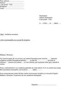 Lettre De Résiliation Assurance Vie by Mod 232 Le Lettre De R 233 Siliation Assurance T 233 L 233 Phone Casse Et