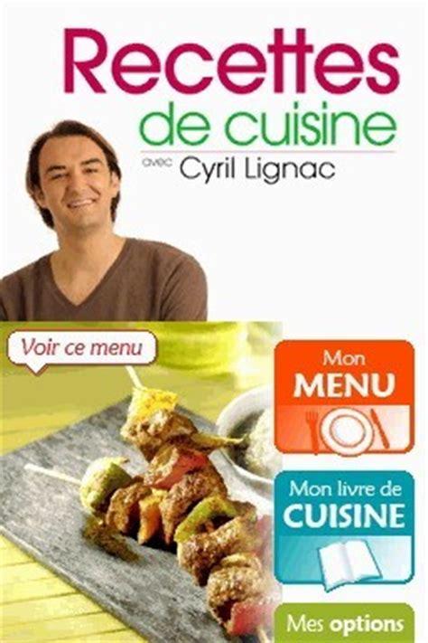 jeux de recette de cuisine recette cuisine ds cyril lignac images