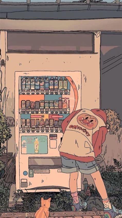 anime retro aesthetic wallpapers