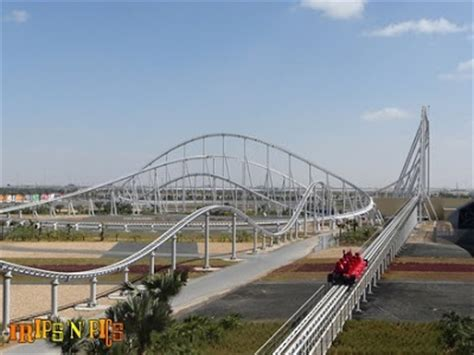 Formula Rossa Height by The Fastest Roller Coaster In The World
