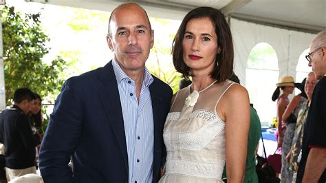 Matt Lauer And His Wife Annette Roque Are Back Living ...