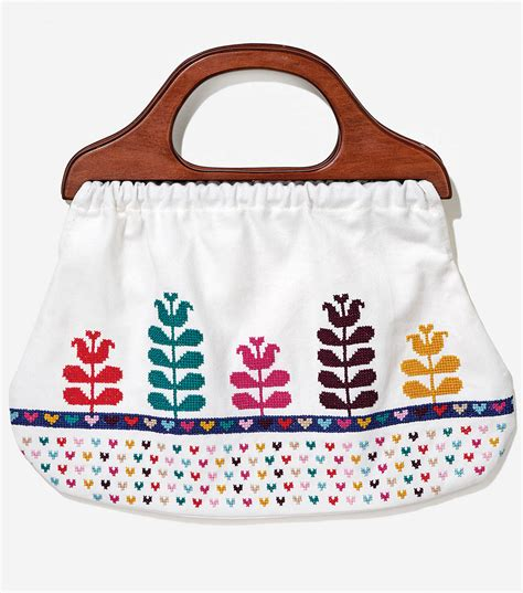 cross stitch bag  handle joann jo ann