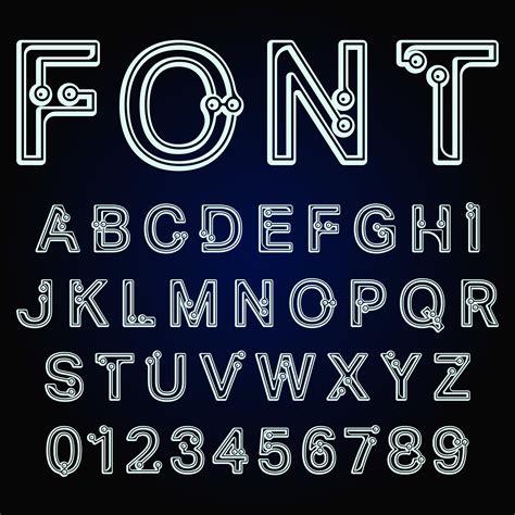 Dots font alphabet - Download Free Vectors, Clipart ...