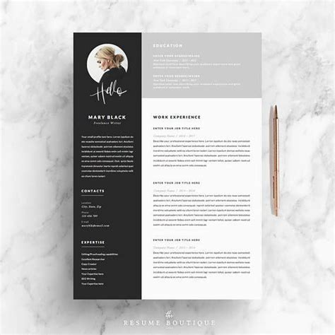 Bewerbung Layout Vorlage by Resume Template And Cover Letter References Template For