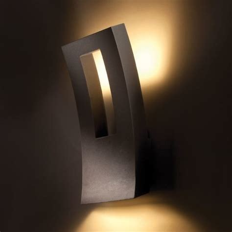 indoor outdoor led wall sconce by modern forms