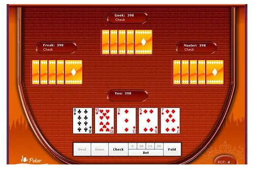 five card poker free download
