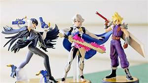 Unboxing Super Smash Bros Cloud Corrin And Bayonetta