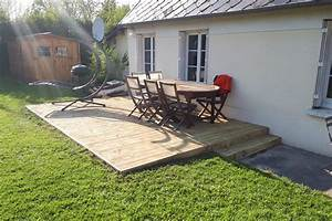 Terrasse Avec Palette : comment faire une terrasse avec des palettes comment faire une terrasse en palette ecopros ~ Melissatoandfro.com Idées de Décoration