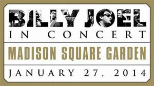 Billy joel schedules return to nyc39s madison square garden for Billy joel madison square garden tickets