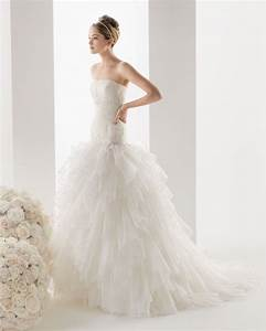 organza strapless wedding dress with chapel train sang With chapel train wedding dress