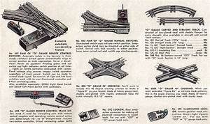 Lionel Electric Toy Train Track Identification Guide