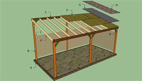 Lean To Car by How To Build A Lean To Carport Garden Patio Outside