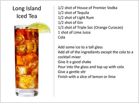 recipe for island iced tea what is your favorite drink