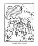 Coloring Pages War Revolutionary Veterans American Revolution Civil Paul Printable Sheets Yorktown History Revere Colouring Boston Flag Massacre Drawing Veteran sketch template