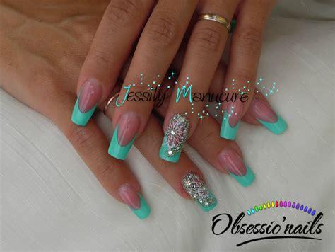 le pour ongles en gel ongle en gel quot turquoise orientale astuce pour extension de plaque sym 233 trique avec obsessio nail