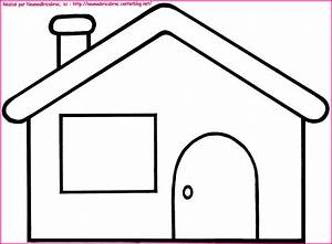 Coloriage a dessiner la maison de mickey for Dessin de maison facile