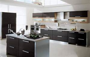 225 modern kitchens and 25 contemporary kitchen designs in With kitchen design in black and white