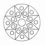 Kaleidoscope Mandala Coloring Pages Printable Q4 Coloringpages sketch template