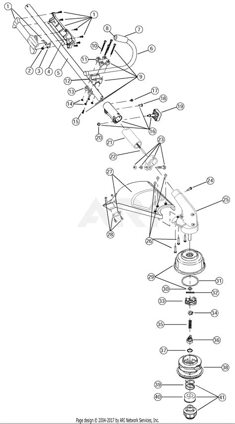 Mtd Eda Parts Diagram For