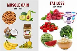 Top Foods For Muscle Gain And Fat Loss