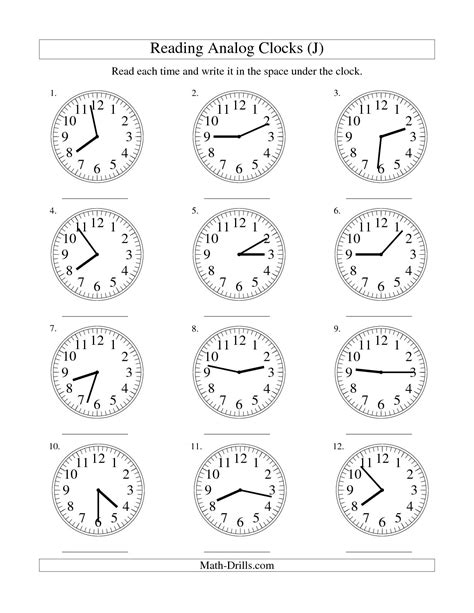 15 Best Images Of Telling Time Worksheets By 5 Minutes  Telling Time Worksheets, Telling Time