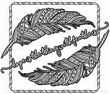 Coloring Pages Feathers Emily Hope Dickinson Poetry Thing Colouring Poems Teacherspayteachers Visit sketch template