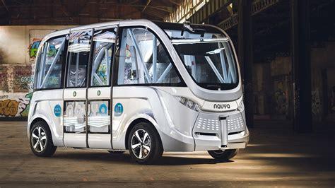 news navya driverless shuttle begins service  victoria