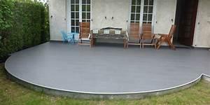 Faire Une Chape Exterieur : faire une chape exterieur 6 dalle beton terrasse et maigre ~ Premium-room.com Idées de Décoration