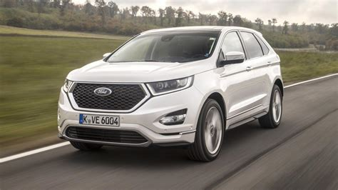 ford edge vignale review  ford crossover driven