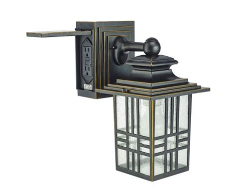 outdoor light with electrical outlet lighting fixtures outdoor light fixture with electrical