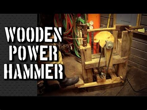 build  power hammer  power hammer plans   homemade davinci cam helve hammer youtube
