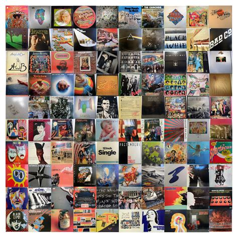 Best Record Covers Design Context 100 Collection Vinyl Record Sleeves