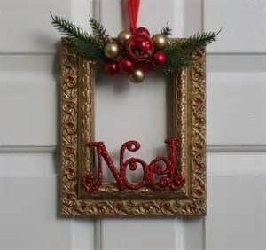 27 ideas para utilizar marcos en decoraciones para esta navidad curso de organizacion de hogar