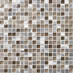 shop american olean delfino metals tropical metal mosaic square wall tile common 12 in x
