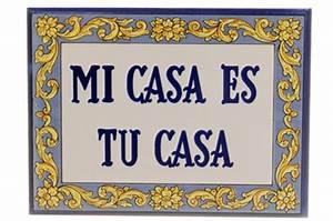 Mi Casa Is Su Casa : mi casa es su casa tile 5 x 8 ~ Eleganceandgraceweddings.com Haus und Dekorationen