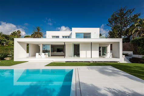 modern day architect bright white and modern on the mediterranean freshome