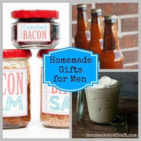 home made gifts for homemade gifts for men
