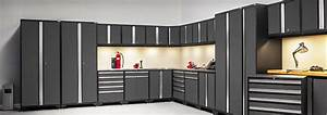 Potomac Lighting Garage Cabinets