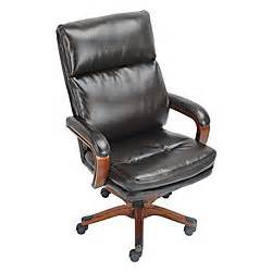 realspace draycott high back bonded leather chair 46 14 h