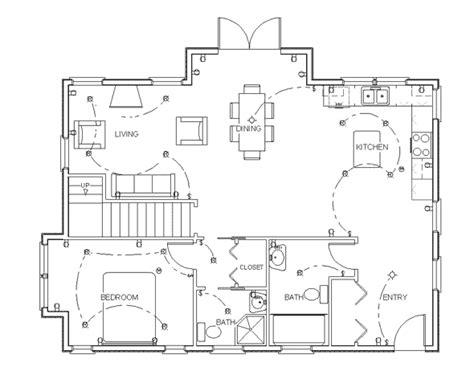 blueprint floor plan furniture plans drawings
