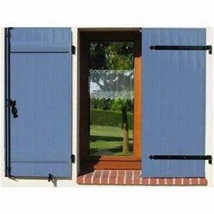 Barre De Volet : volet battant aluminium isolant couleur 2 vantaux sur mesure ~ Melissatoandfro.com Idées de Décoration