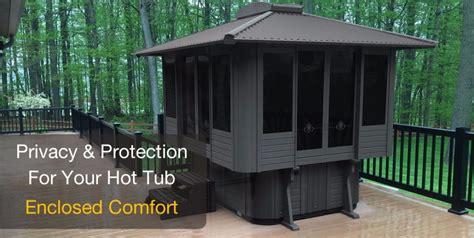 tub enclosures for sale spa gazebos tub enclosures tiny houses kits for sale