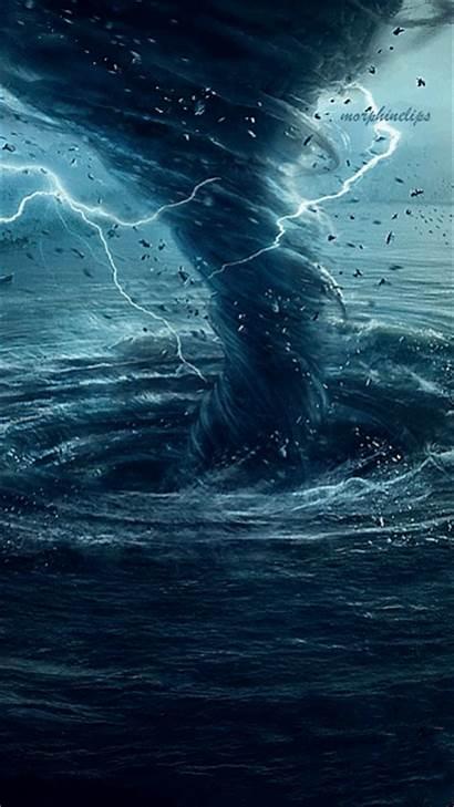 Water Storm Raging