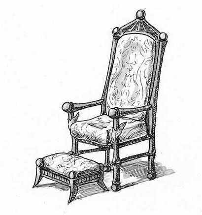 Throne Footstool Illustration Isaiah Jesus Coloring Gods