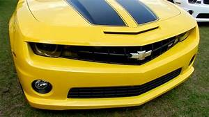 2011 Chevrolet Camaro Ss Yellow Demo For Sale Review  Stock   11c365