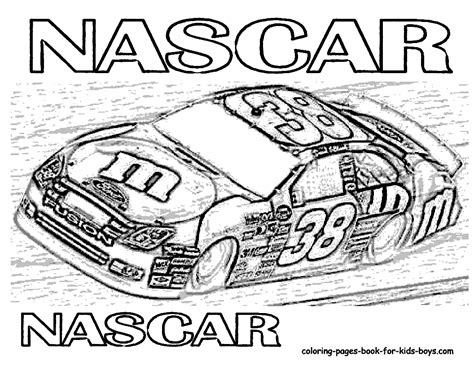 Race Car Coloring Pages To Print Coloring Pages