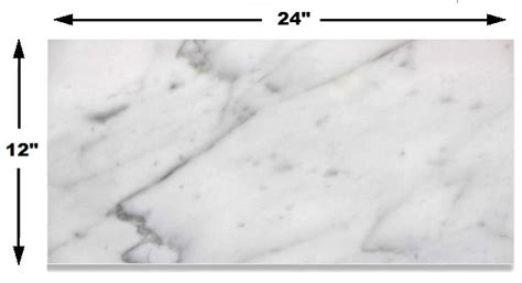12x24 carrara marble 9 95sf carrara bianco honed 12x24 floor and wall marble tile