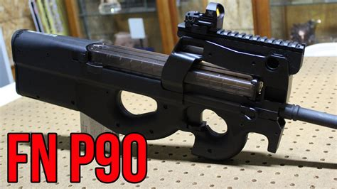 Fn P90 Closer Look & First Impressions With Champion