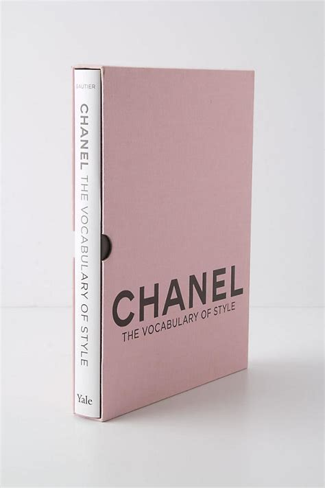 chanel buch deko chanel the vocabulary of style anthropologie