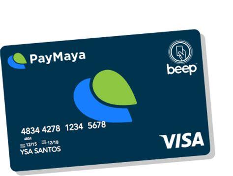 pay toll  nlex  paymaya cards philippine primer